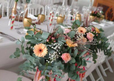 Centre de table et bouquets - Artisan Fleuriste - Melle Coeur d'Articho - Anais Barat