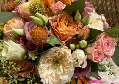 Bouquet de la mariée - Artisan Fleuriste - Melle Coeur d'Articho - Anais Barat - Comminges - Toulouse - St-Girons