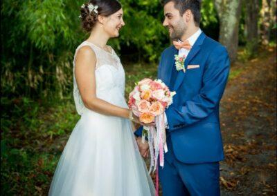 Fleurs pour mariage - Artisan Fleuriste - Melle Coeur d'Articho - Anais Barat - Comminges - Toulouse - St-Girons