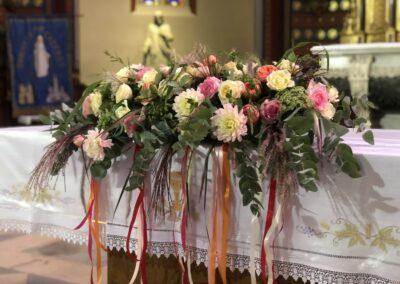 Décoration florale mariage - Artisan Fleuriste - Melle Coeur d'Articho - Anais Barat - Comminges - Toulouse - St-Girons